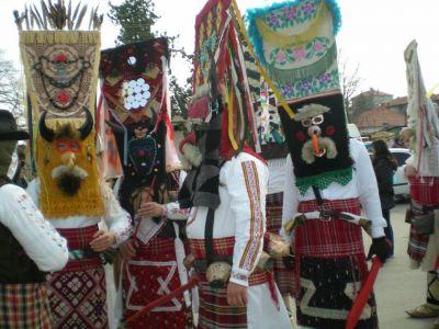1 - Фестивал на кукерите и маските в село Айдемир - НЧ Родолюбие 2006 - с. Айдемир, Силистра