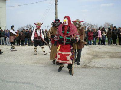 6 - Фестивал на кукерите и маските в село Айдемир - НЧ Родолюбие 2006 - с. Айдемир, Силистра